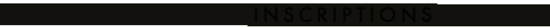 Inscriptions logo